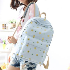 Canvas Love - Lemon Print Backpack