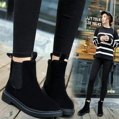 SouthBay Shoes - Short Chelsea Boots