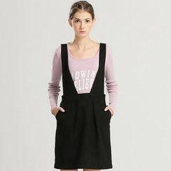 Life 8 - Vintage Woolen Shirred Jumper Skirt