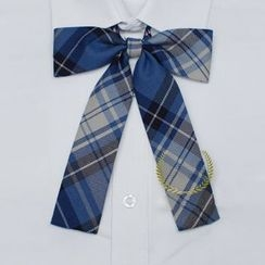 Skool - Plaid Bow Neck Tie
