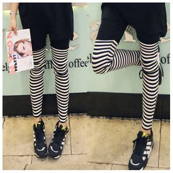 Renee - Stripe Panel Leggings