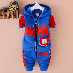POMME - Kids Set: Hooded Jacket + Pants