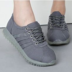 Renben - Plain Canvas Sneakers