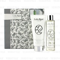 Lola Rose - Energising Rock Crystal Set: Shower Gel 100ml/3.38oz + Body Cream 100ml/3.38oz