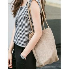 FROMBEGINNING - Cord-Strap Woven Tote