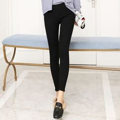 Crytelle - Fleece-lined Skinny Pants