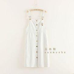 Mushi - Button Up Jumper Skirt