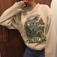 Dute - Printed Sweatshirt