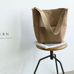 NANING9 - Faux-Suede Tote