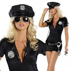 Cosgirl - Officer Party Costume Set