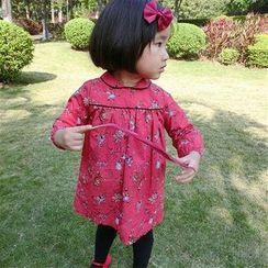 Happy Lala - Kids Long-Sleeve Printed Dress