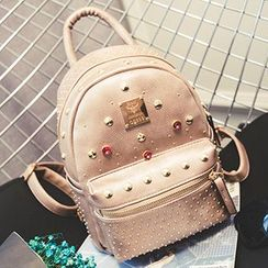 Youme - Rhinestone Studded Backpack