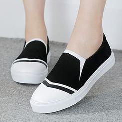 人本 - 配色边轻便鞋