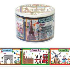 Aimez le style - Aimez le style Masking Tape Primaute Wide Scenery of world