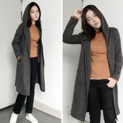 CHIH - Hooded Long Knit Jacket