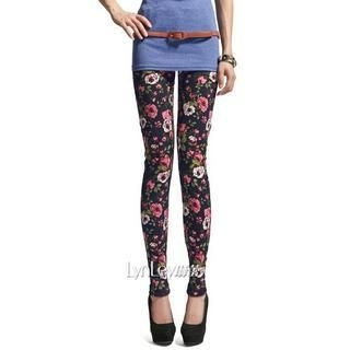 Lynley - Floral Leggings
