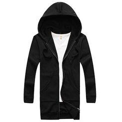 AOYAMA - Hooded Zip Jacket