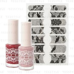 Etude House - & Rose Flowering Nails (#02 Velvet Rose)
