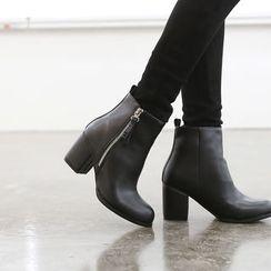 DANI LOVE - Zip-Side Ankle Boots