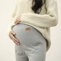Viana Smile - Maternity Plain Leggings