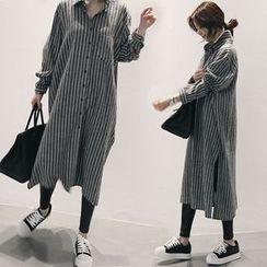 Fairground - Striped Shirtdress