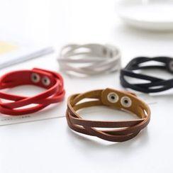 Coolgirl - Faux Leather Bracelet