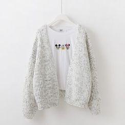 Sakunini - Chunky Knit Cardigan