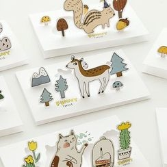 Nina's House - Animal Pop Up Greeting Card with Envelop