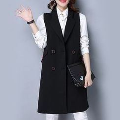 Romika - Double-breasted Long Vest