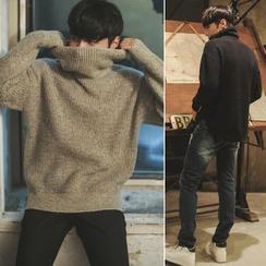 匡亿 - 高领毛衣