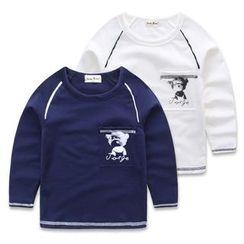 JAKids - Kids Print Long Sleeve T-Shirt