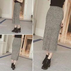 QZ Lady - Knit Midi Skirt