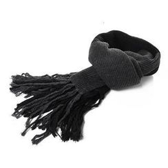 Nirvana Nation - Fringe Knit Scarf