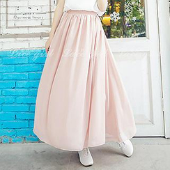 Lace Girl - A-Line Maxi Skirt