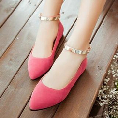 Tomma - Ankle Strap Flats