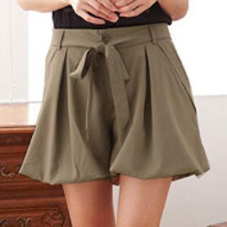 RingBear - Bubble-Hem Shorts