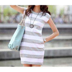 Forest Of Darama - Striped Minidress