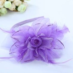 Little Princess - Kids Flower Hair Band