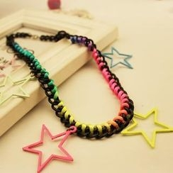 Ticoo - Star Chain Necklace