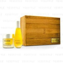 Decleor 思妍麗 - Aroma Iris Coffret: Aromessence Iris Rejevenating Serum 15ml + Aroma Night Iris Night Balm 15ml