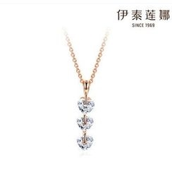 Italina - Rhinestone Necklace
