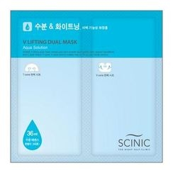 Scinic - V lifting Dual Mask (Aqua Solution)