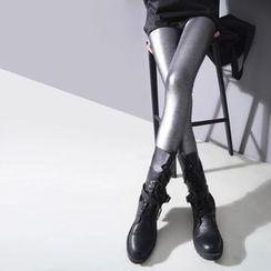 Sonne - Brushed Fleece-Lined Leggings