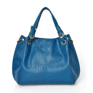 59 Seconds - Belted Grommeted Satchel