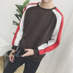 JORZ - Color Block Raglan Sweatshirt