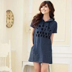 Zosia - 印花T恤连衣裙