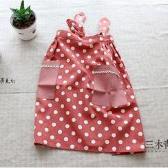 三木青禾 - 圓點半身圍裙