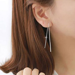 Kulala - 925 Sterling Silver Threader Earrings