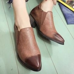 Sidewalk - Block Heel Ankle Boots