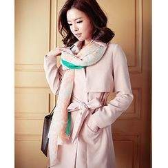 MASoeur - Flap-Front Trench Coat